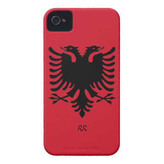 Republic of Albania Flag Eagle iPhone 4/4S Case