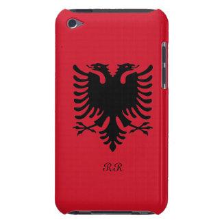 Republic of Albania Flag Eagle on iPod Touch Case