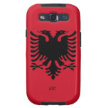 Republic of Albania Flag Eagle Samsung Galaxy S3