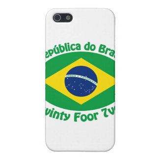 Republic Of Brazil - Twinty Foor 7ven Case For iPhone 5/5S
