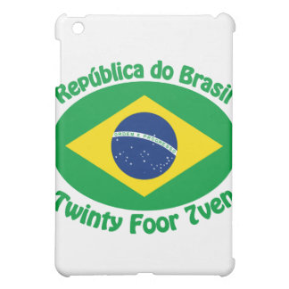 Republic Of Brazil - Twinty Foor 7ven Case For The iPad Mini