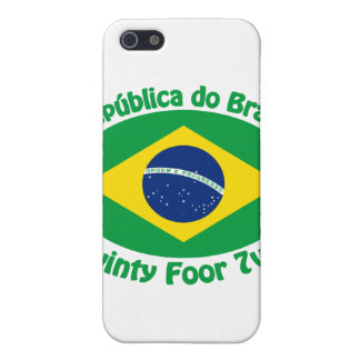 Republic Of Brazil - Twinty Foor 7ven Case For The iPhone 5