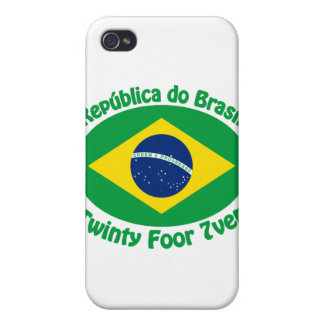 Republic Of Brazil - Twinty Foor 7ven iPhone 4 Covers