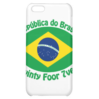 Republic Of Brazil - Twinty Foor 7ven Case For iPhone 5C