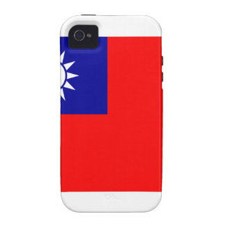 Republic Of China Flag Vibe iPhone 4 Covers