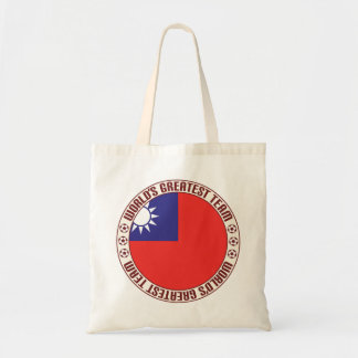Republic of China Greatest Team Budget Tote Bag