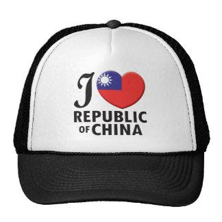 Republic of China Love Trucker Hat