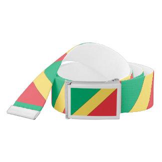 Republic of Congo Flag Belt