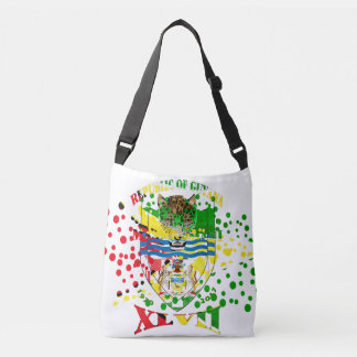 Republic of Guyana 47th Mashramani  Anniversary Crossbody Bag