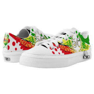 Republic of Guyana, Happy 50th Independence Annive Printed Shoes