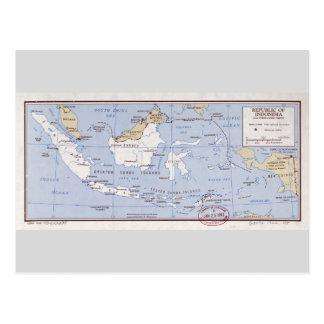 Republic of Indonesia and Portuguese Timor (1962) Postcard