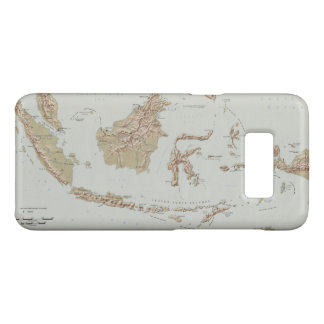 Republic of Indonesia Map (1957) Case-Mate Samsung Galaxy S8 Case