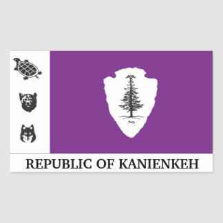 Republic of Kanienkeh(Mohawk Nation) Sticker