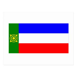 Republic of Khakassia Flag Postcard