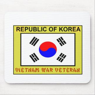 Republic of Korea Vietnam War Veteran Mouse Pad