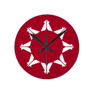 Republic of Lakotah Round Clock
