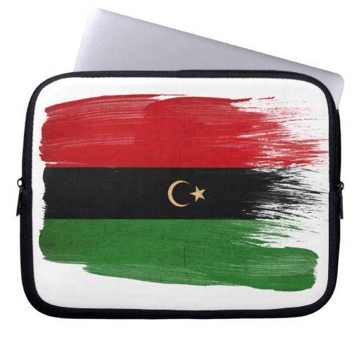 Republic of Libya Flag Laptop Computer Sleeves