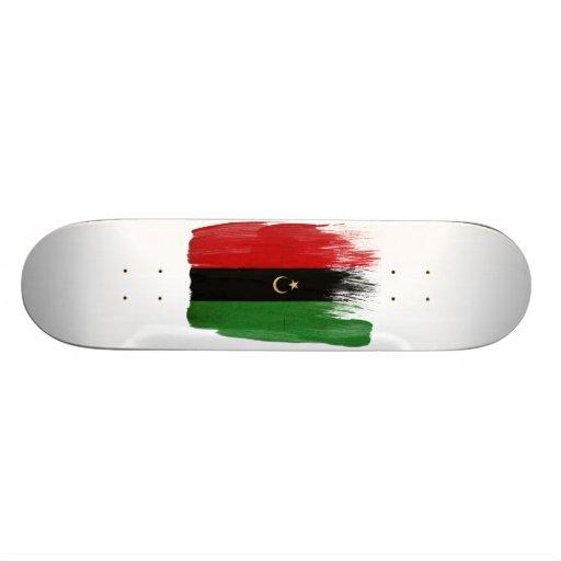 Republic of Libya Flag Skate Board Decks