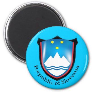 Republic of Slovenia Magnet