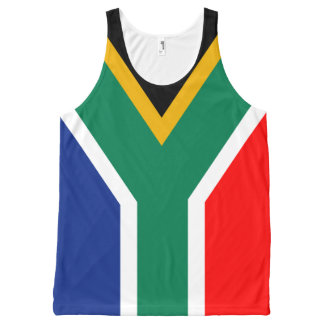 Republic of South Africa All-Over Print Tank Top