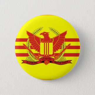 Republic of South Vietnam Military Forces Flag 6 Cm Round Badge