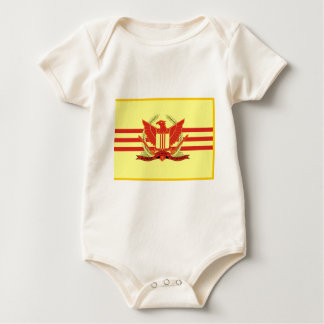 Republic of South Vietnam Military Forces Flag Baby Bodysuit