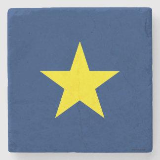Republic of Texas Stone Coaster
