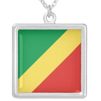 Republic of the Congo Flag Necklace