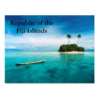 Republic of the Fiji Islands postard Postcard