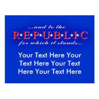 Republic Postcard