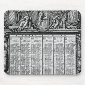 Republican calendar, 22nd September 1793 Mouse Pad