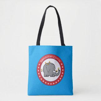 Republican Chicks Bag Tote Bag