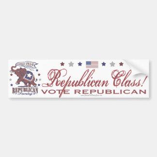 Republican Class Bumper Sticker
