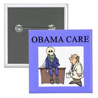 republican conservative anti obama joke 15 cm square badge