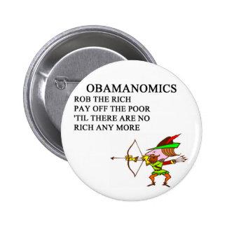 republican conservative anti obama joke 6 cm round badge