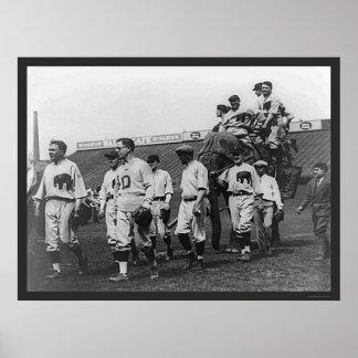 Republican Democrat Baseball 1926 Poster