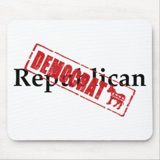 Republican: DEMOCRAT Mousepads