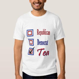 Republican Democrat  TEA Party Political Tshirts