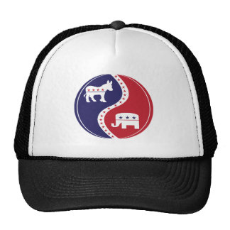 Republican  Democrats Working Together Mesh Hat