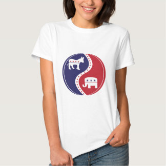 Republican  Democrats Working Together Tee Shirt