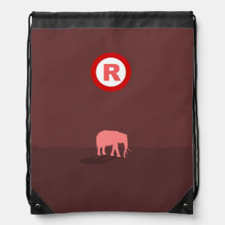 Republican Drawstring Backpack