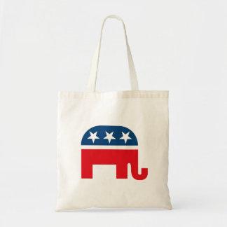 Republican Elephant Canvas Bags