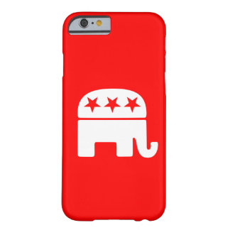 Republican Elephant Barely There iPhone 6 Case
