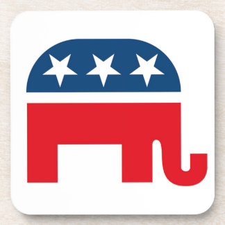 Republican Elephant Drink Coasters