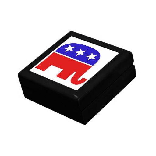 Republican Elephant Gift Box
