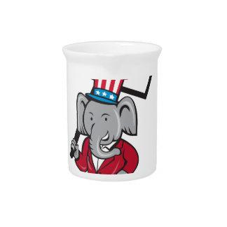 Republican Elephant Mascot Decision 2016 Placard C Pitcher