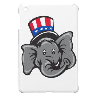 Republican Elephant Mascot Head Top Hat Cartoon Case For The iPad Mini
