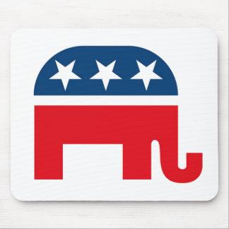 Republican Elephant Mouse Pad