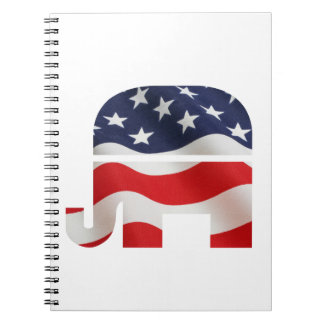 Republican Elephant Notebooks