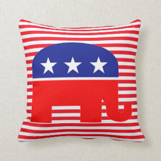republican elephant pillow